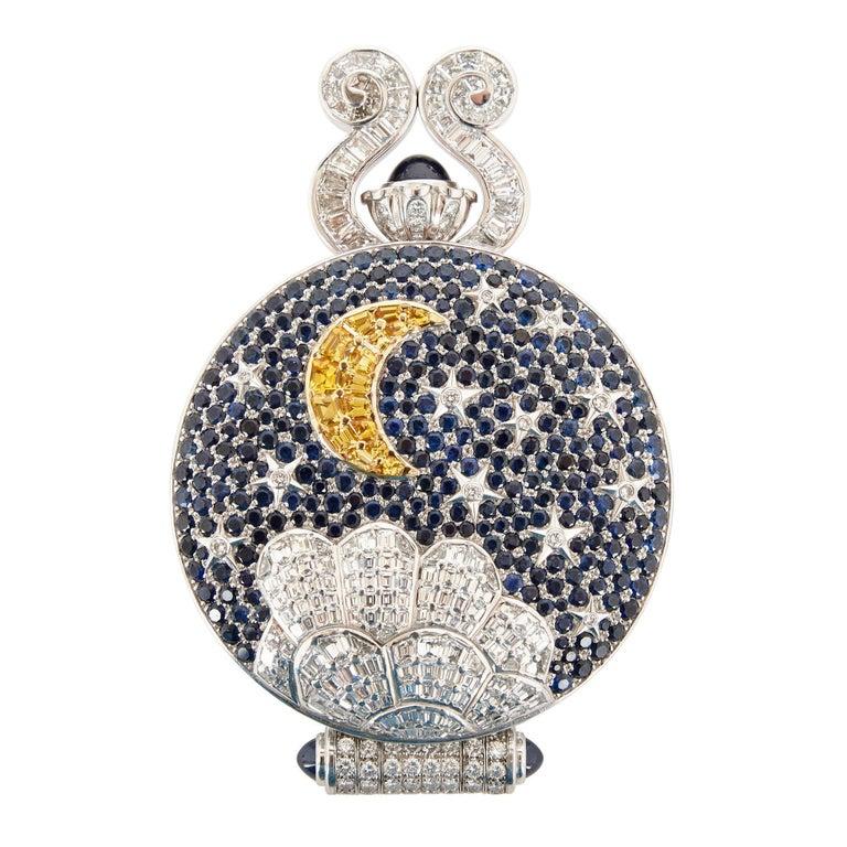 Gold Unique and Magnificent Jewel Encrusted Automaton Watch by Audemars Piguet For Sale