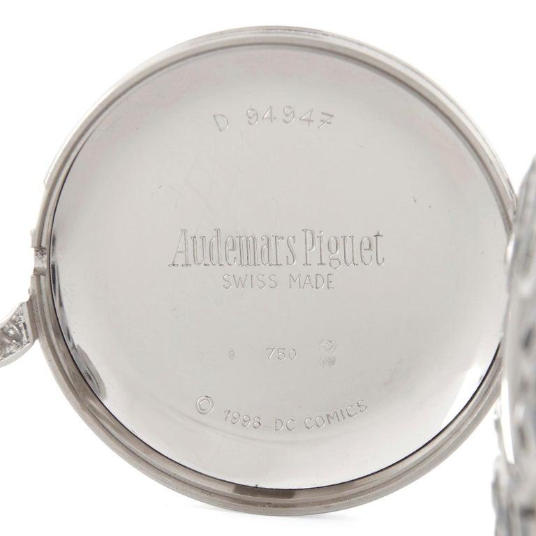 Unique and Magnificent Jewel Encrusted Automaton Watch by Audemars Piguet For Sale 3
