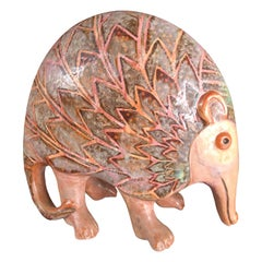 "Unique ""ANTEATER"" Sculpture Few of a Kind Masterpiece Artisan Eva Fritz-Lindner"