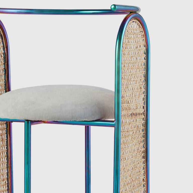 Indian Unique Arco Chair Rainbow by Saumil Suchak For Sale
