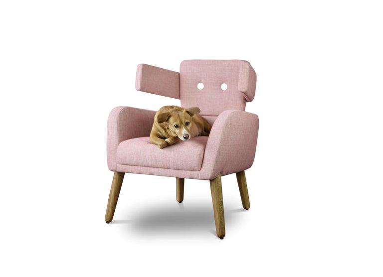 Modern Unique Armchair Touro by André Teoman Studio For Sale