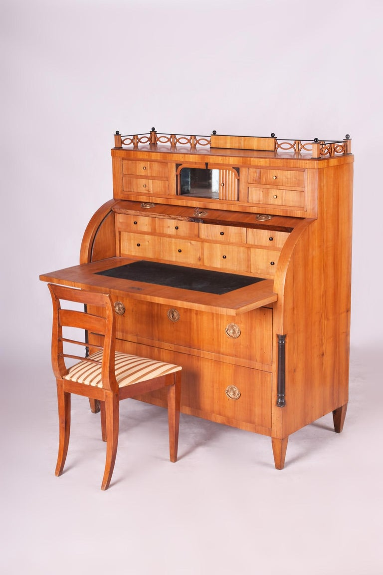 Empire Secretary/Writing desk - (Cylinder)
