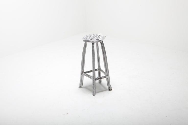 Contemporary Unique Bar Stool T-009 by Studio Nicolas Erauw For Sale