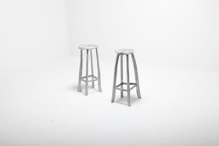 Unique Bar Stool T-009 by Studio Nicolas Erauw For Sale 2