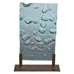Unique Beveled Glass Modern Art Decorative Accent