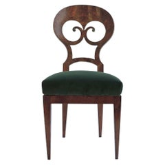 Unique Biedermeier Chair