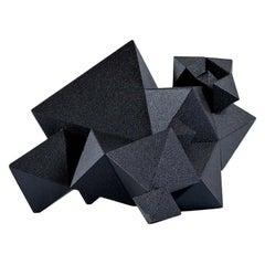 Unique Black Low Chair from Aranda\Lasch's Primitive Series