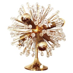 Unique Blowball Sputnik Table Lamp by Emil Stenjar for Rupert Nikoll, Vienna