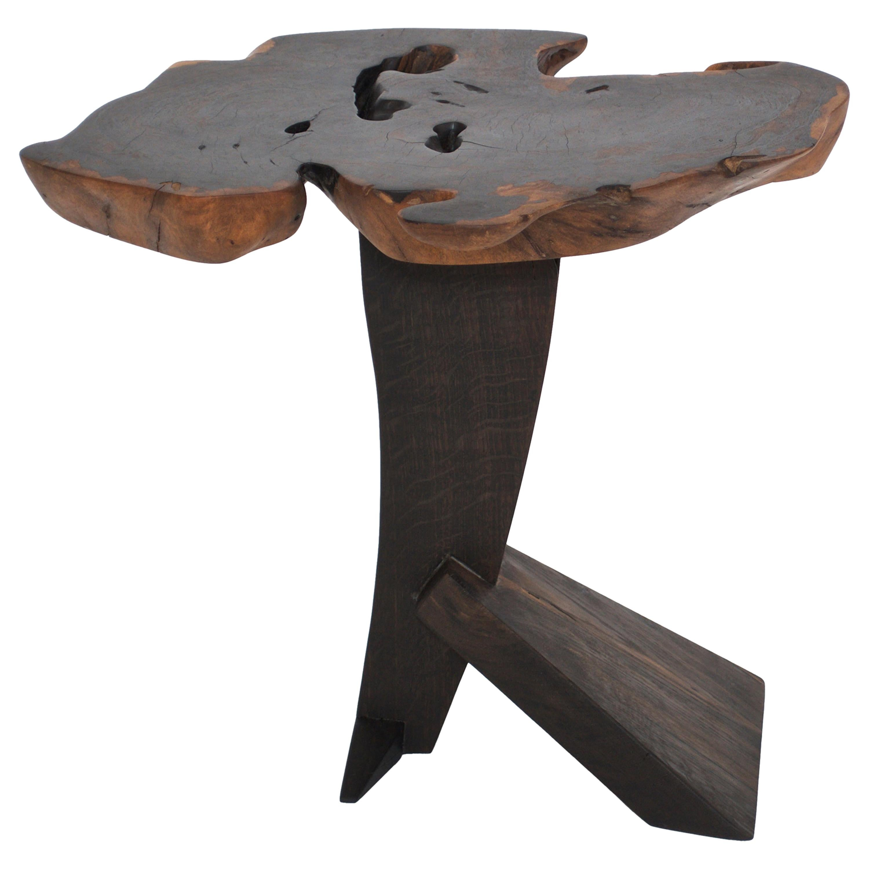 Unique Bog Oak Signed Table by Jörg Pietschmann