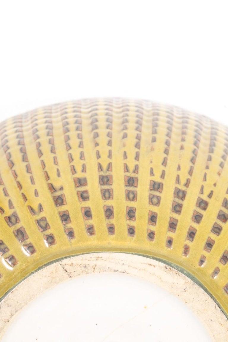 Danish Unique Bowl Design by Carl Halier for Royal Copenhagen For Sale