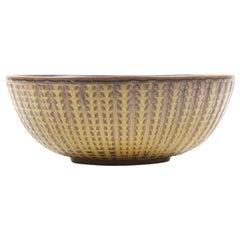 Unique Bowl Design by Carl Halier for Royal Copenhagen