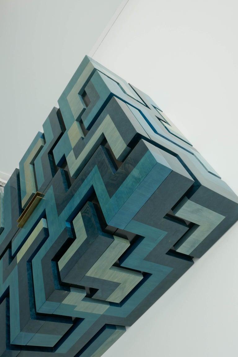 Marquetry Unique Cabinet