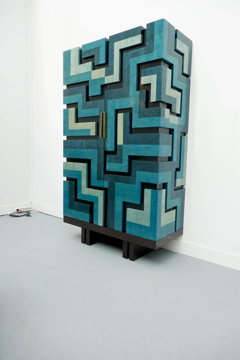 Wood Unique Cabinet