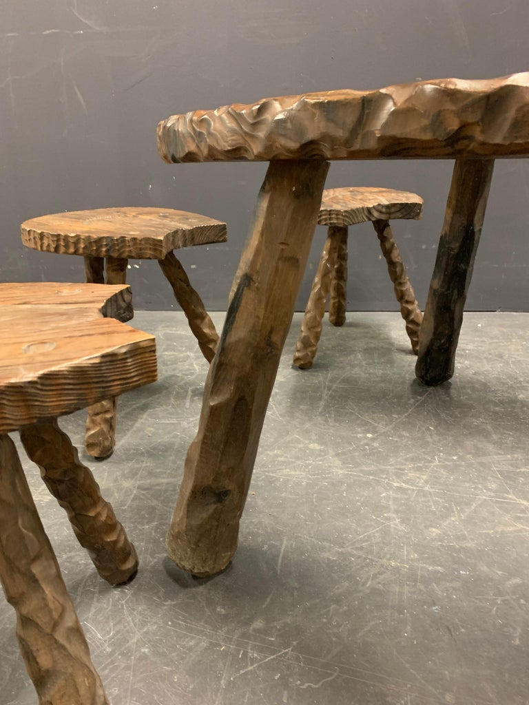 Unique Cabinetmakers Game Table, or Party Set For Sale 1