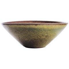 Unique Ceramic Bowl by Carl-Harry Stålhane for Rörstrand, Sweden