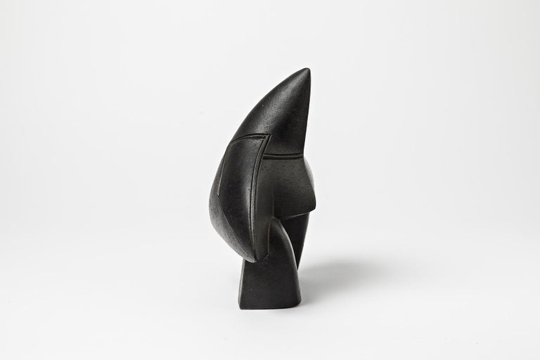 Beaux Arts Unique Ceramic Sculpture by Pierre Martinon, circa 2000 For Sale