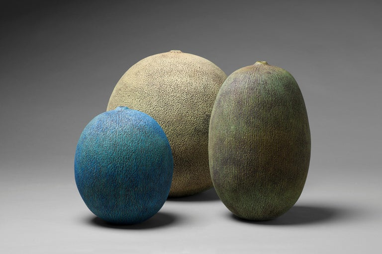 Finnish Unique Ceramic Vase by Erna Aaltonen For Sale