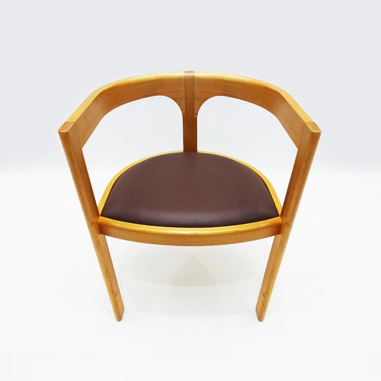Modern Unique Chair by Danish Master Craftsmen Rud Thygesen and Niels Roth Andersen For Sale