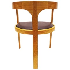 Unique Chair by Danish Master Craftsmen Rud Thygesen and Niels Roth Andersen