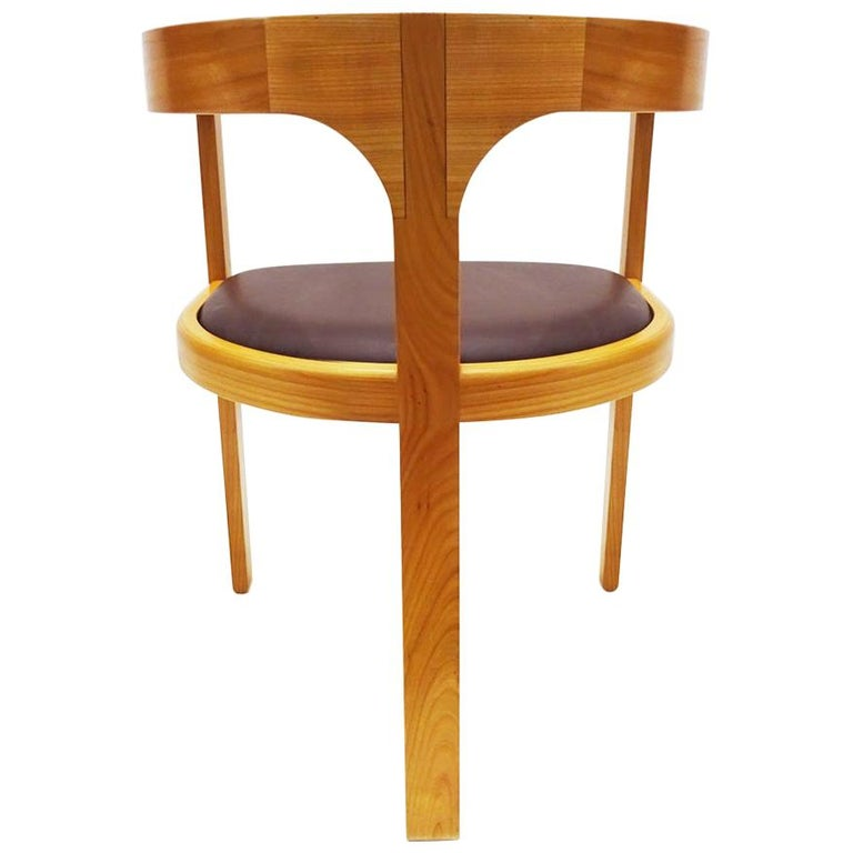 Unique Chair by Danish Master Craftsmen Rud Thygesen and Niels Roth Andersen For Sale
