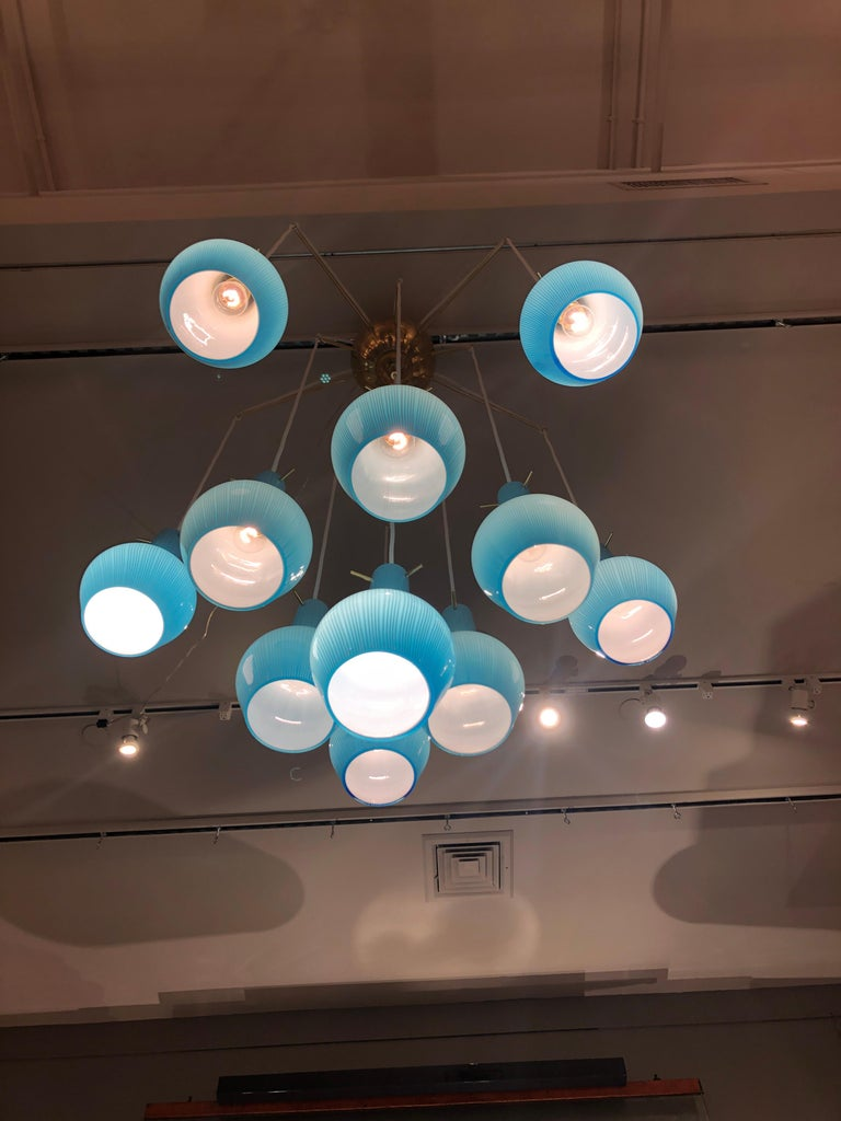 Unique Chandelier by Roberto Rida, Italy, 2019 In New Condition For Sale In New York, NY