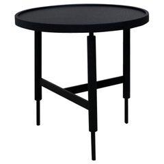 Unique Collin Black Side Table by Collector