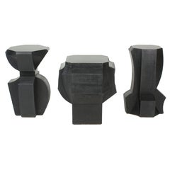 Unique Concrete End Table/Stool/Decorative Objects by Nico Yektai