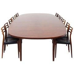 Unique Conference Table by Hans J. Wegner