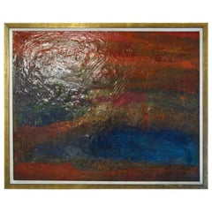Unique Contemporary Abstract Oil Painting