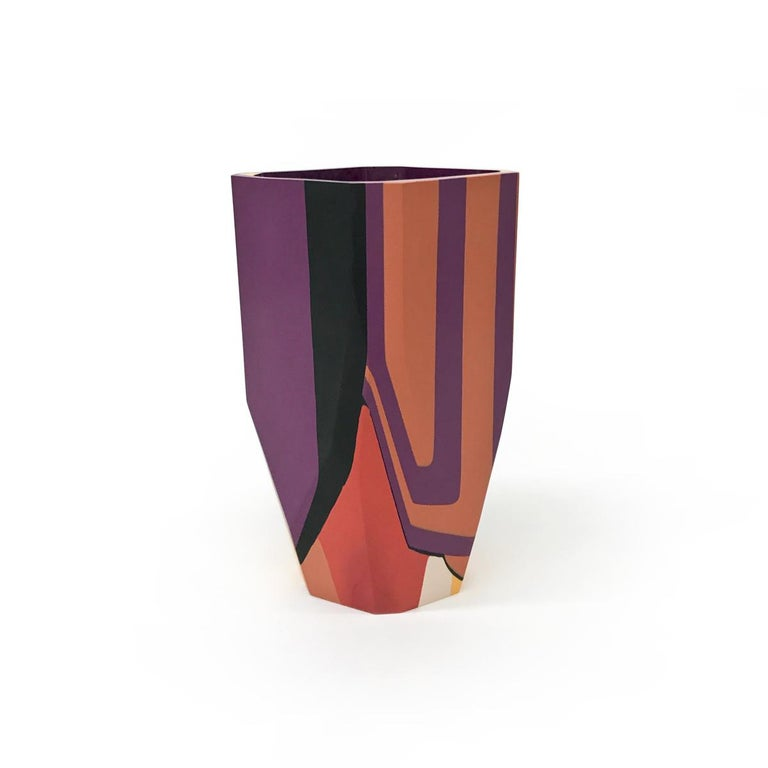 Unique Contemporary Cast Resin Isere Vase by Elyse Graham For Sale 1