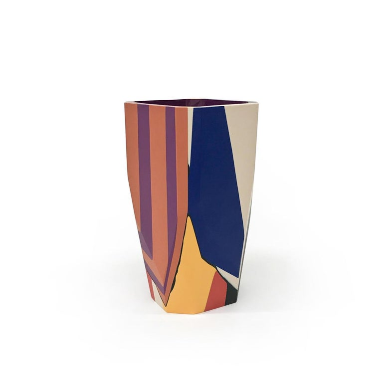 Unique Contemporary Cast Resin Isere Vase by Elyse Graham For Sale 2
