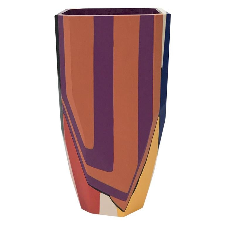 Unique Contemporary Cast Resin Isere Vase by Elyse Graham For Sale
