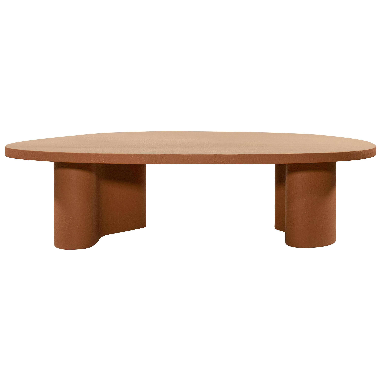 Unique Cotta Coffee Table Signed by Gigi Design