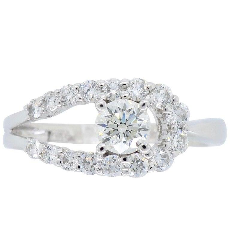 Unique Diamond Right Hand Ring For