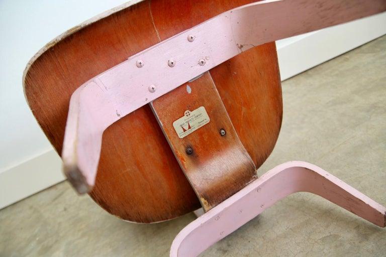 Bentwood Unique Eames LCW For Sale