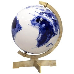 Unique Earth Globe Sculpture by Alex de Witte