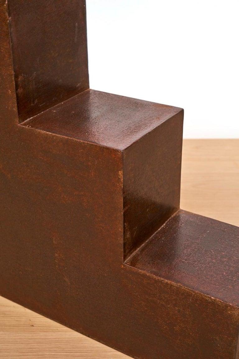 Modern Unique Escalier Metal Side Table by Jean-Baptiste Van den Heede For Sale