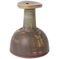 Unique Farsta Stoneware Vase by Wilhelm Kåge for Gustavsberg, 1958