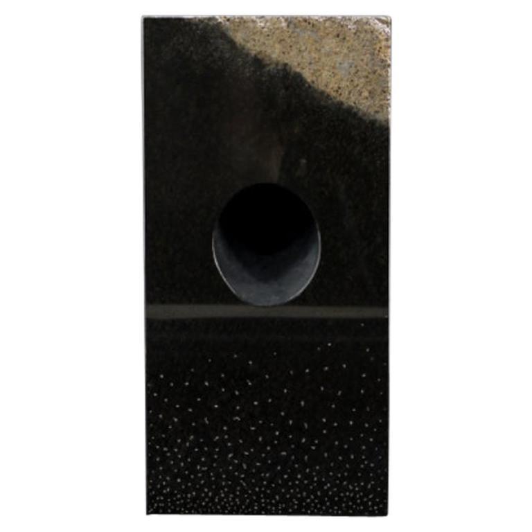 Unique Floor Lamp, Daté Kan Stone Design by Okurayama For Sale