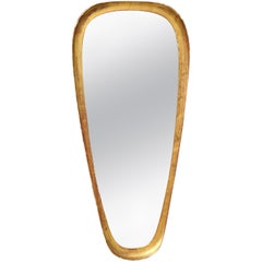 Unique Giltwood Midcentury Mirror, by Labarge