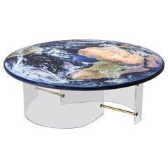 Unique Globe Table with Plexi Base