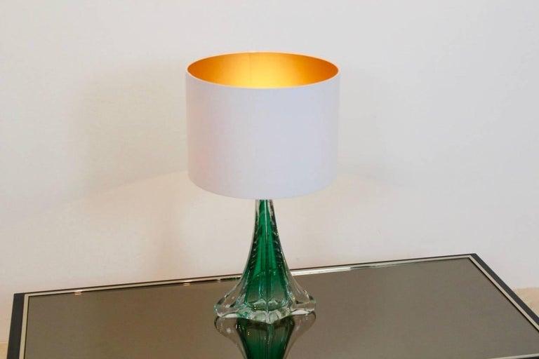 Unique handmade boussu translucent glass table lamp belgium 1960s unique handmade boussu translucent glass table lamp belgium 1960s for sale 2 mozeypictures Images