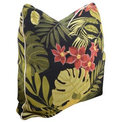 Unique Handmade Pillow Jungle by Night