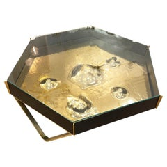 Unique Hexagonal Coffee Table