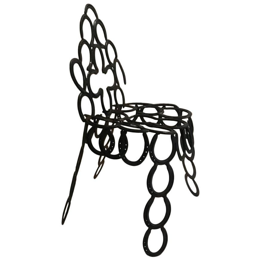 Unique Horseshoe Chair