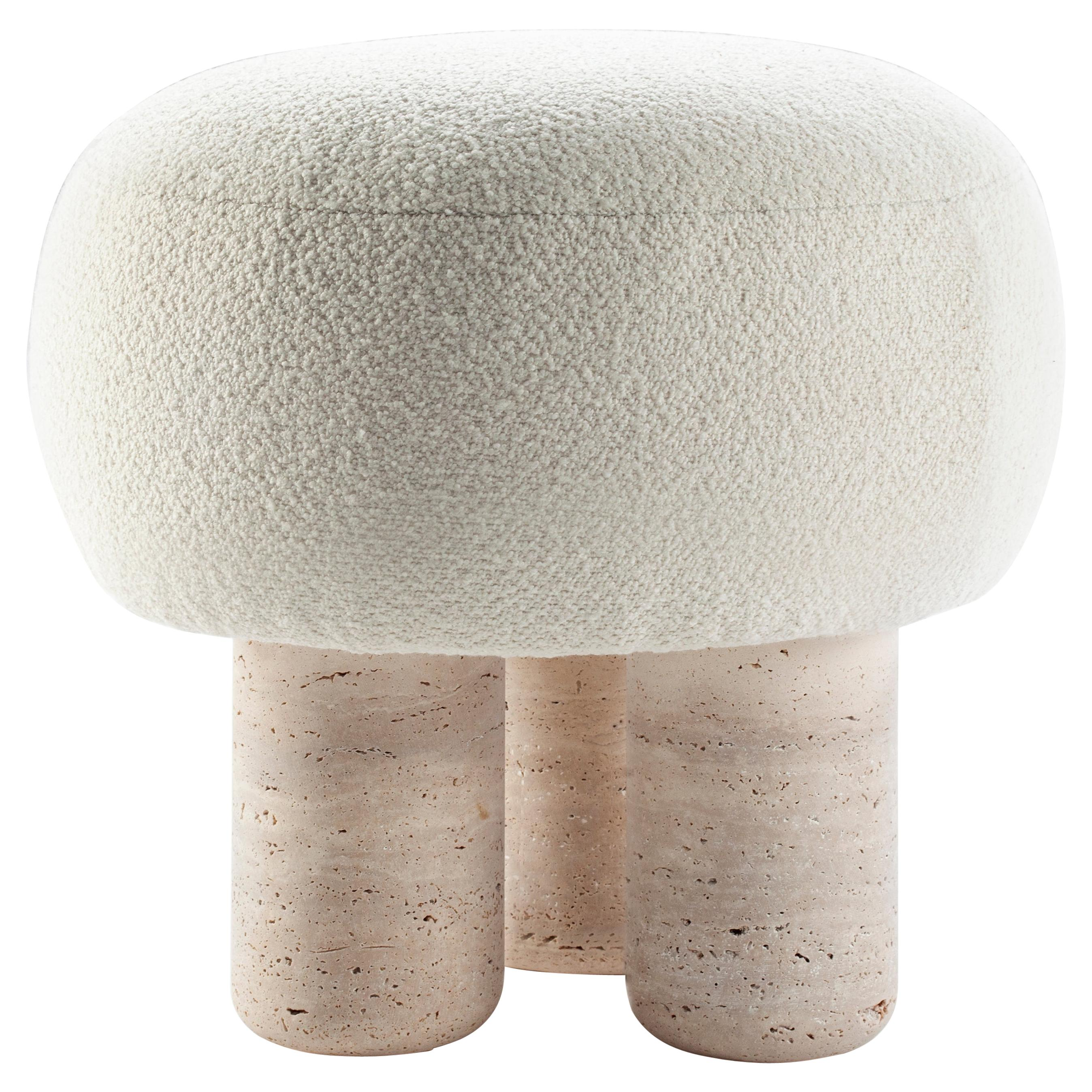 Unique Hygge Stool by Collector