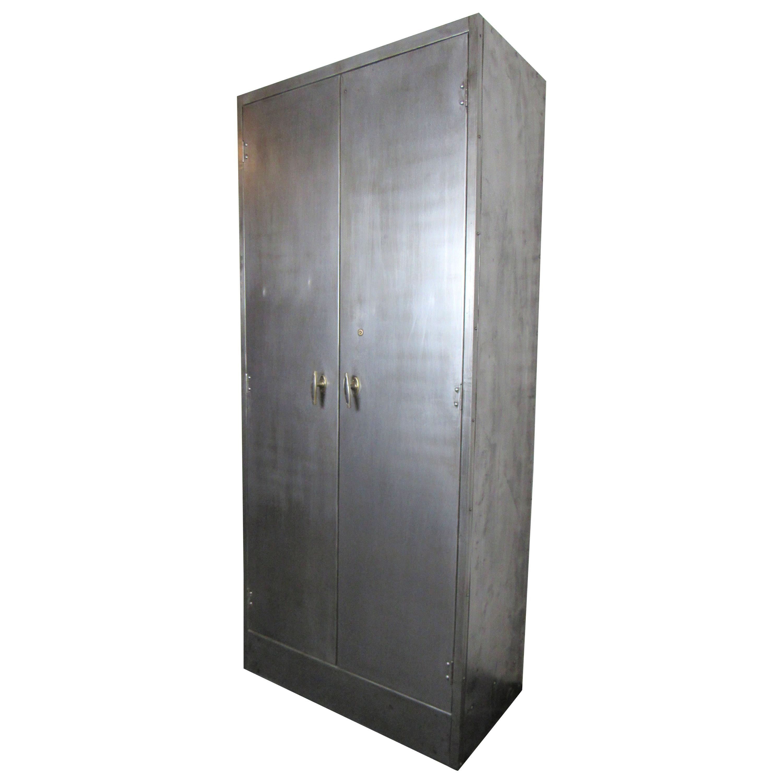 Unique Industrial Metal Cabinet