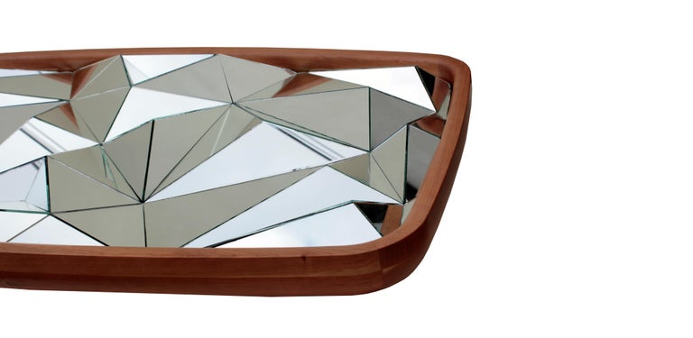 Modern Unique Kaleidoscope Mirror by André Teoman Studio For Sale
