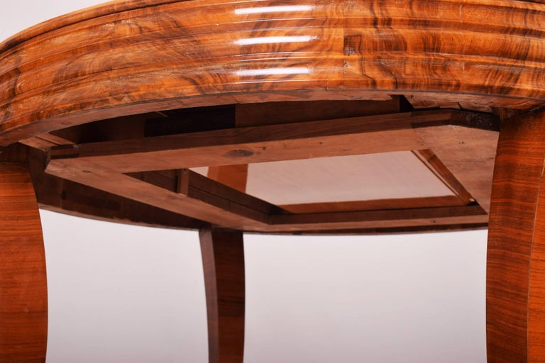 Unique Large Art Deco Extendable Dining Table 2
