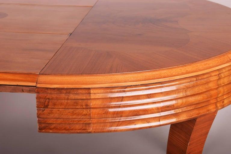 Unique Large Art Deco Extendable Dining Table 3